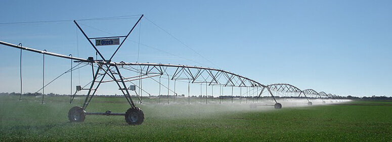Otech irrigators are reliable with renowned quality European manufacturing.