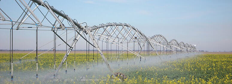 Otech, the largest European manufacturer of Centre Pivot and Lateral Move irrigation systems.